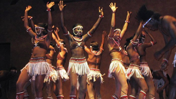 African Traditional Dancers at the Bomas of Kenya