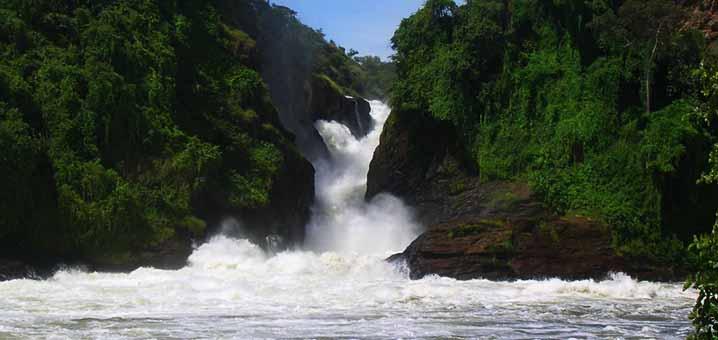 Murchinson Falls in Uganda